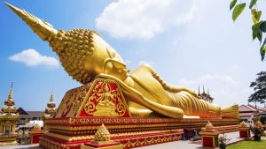 Budda sdraiato - Laos