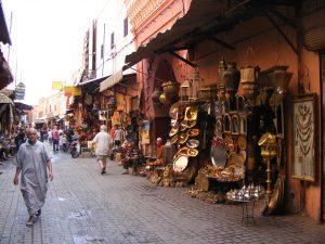 Particolare della Medina di Marrakech