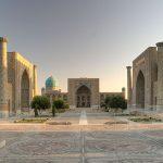 Uzbekistan -Samarcanda - Registan Square